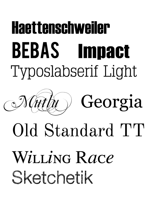 Fonts for dyslexia