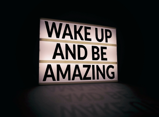 How to wake up great talents