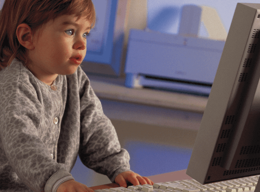 Generation Alpha Toddler Computer