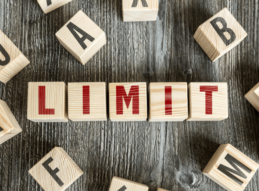 Limits with dyslexia